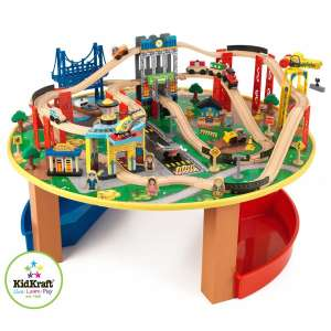 Kidkraft City Explorers Train Set And Table £75 @ Tesco Direct