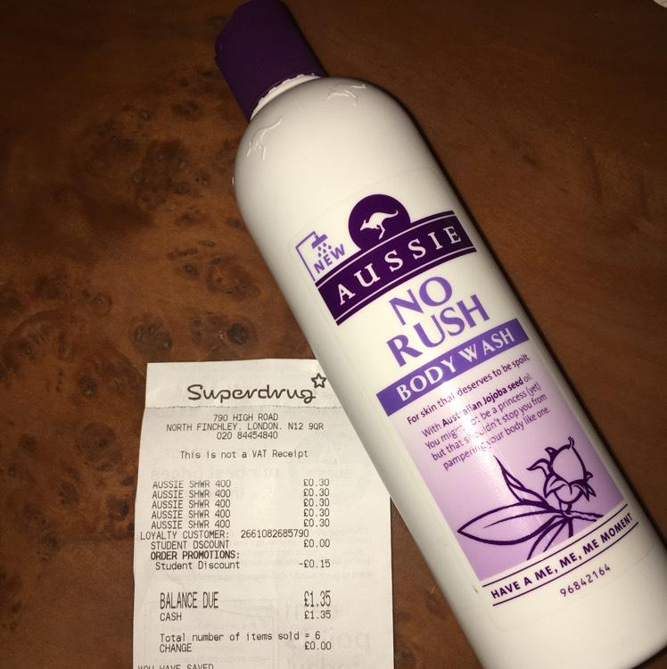 Aussie Body Wash 400ml - 30p in Superdrug North Finchley