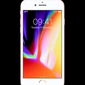 iPhone 8 64GB for £27 a month (300 minutes / unlimited texts / 1.2GB data / 36 months = £972) @ Virgin Media