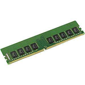 Kingston  2400 MHz, DDR4 ECC CL17 UDIMM 1.2V, 4 GB £29 @ Amazon Italy