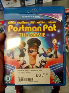 Postman Pat: The Movie (Blu-Ray) 50p (Pre Owned) Instore @ CEX