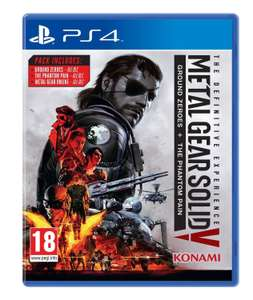 Metal Gear Solid V - The Definitive Experience (PS4) £8.99 @ PSN PlayStation Store