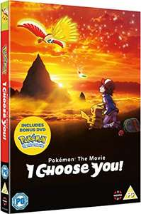 Pokemon I choose you + free Pokemon the first movie! DVD- £6.99 (Prime) £8.98 (Non Prime) @ Amazon