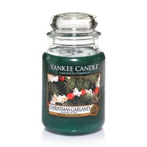 Large Yankee Candles Christmas Range  £11.99 @ Yankee Candle Instore - Nottingham Victoria center