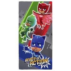 PJ Masks Ready For Action Bath / Beach Towel only £4.99 delivered @ Internet Gift Store
