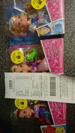 Disney princess with pets at Tesco instore £6
