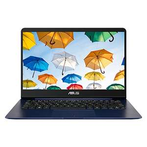 Asus Zenbook UX430UA-GV232T 14 Inch Nano Edge Screen (Blue) dropped £100 - £799.97 @ Amazon