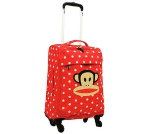 Paul Frank Julius cabin/ check in luggage - idiosyncratic funky designs - reduced to clear @ Argo & Argos Ebay outlet £46.99 upwards