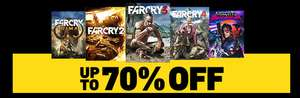 Far Cry Bundle for PC on Steam - all titles! £42.35