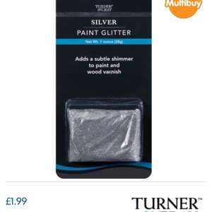 Paint glitter @ b and m £1.99 or 3 for £5