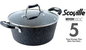 Scoville never stick stock pot 24cm £11 at Asda online free click and collect