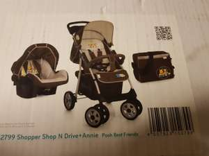 Hauck Shopper Shop'n Drive set Disney Baby edition £79.96 instore @ Leicester St Georges Toys'r'Us