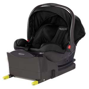 Graco Snugride I-size car seat in Midnight Black includes base £39.96 @ Leicester St Georges Toys'r'Us