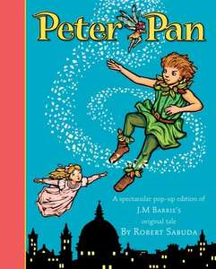 Amazing Sabuda Peter Pan pop up book from Amazon Prime £4.99 / Non Prime £7.98