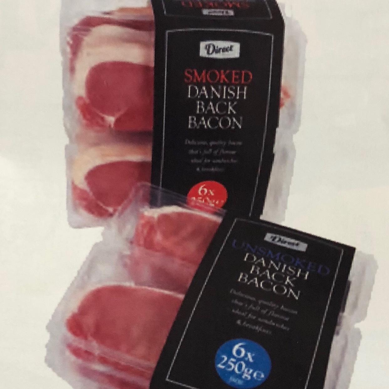 3KG Back Bacon (12x250g) @ Costco £8.98
