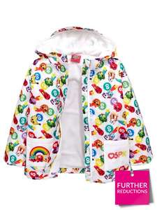 Kids' Character Fleece Lined Rain Macs Incuding Shopkins, Paw Patrol, Peppa Pig & more (was £22) now from £11 @ Very