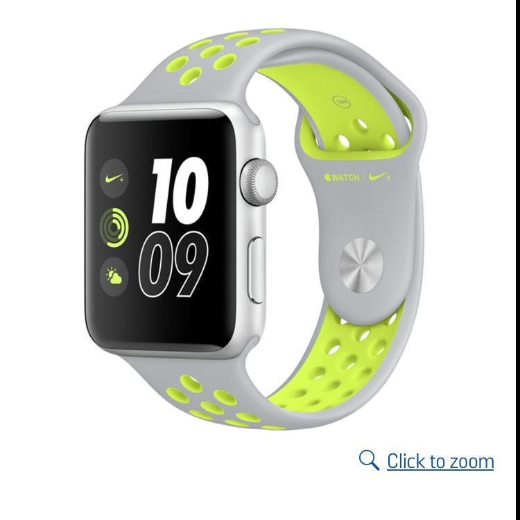 Apple Watch Nike+ silver strap £284 @ Argos