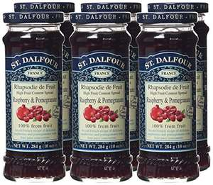St Dalfour Raspberry and Pomegranate (Pack of 6) Amazon Add-on item £2.69