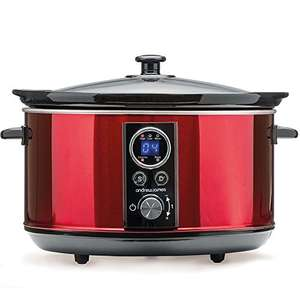 Andrew James Premium Slow Cooker with Removable Ceramic Bowl (4.5 Litre) £34.99 @ Amazon - Dispatched from and sold by Andrew James UK LTD