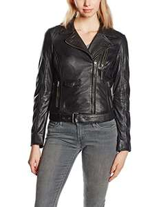 Women's leather jacket £33.05 at Amazon (size 12 only at this price)