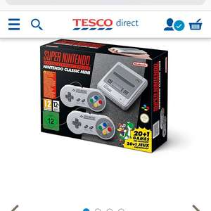 SNES mini £79.99 @ Tesco