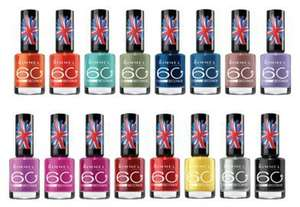 Rimmel 60 Seconds Nail Polish 79p + £1.99 delivery  - Free Delivery Over £20 @ Fragrance Direct