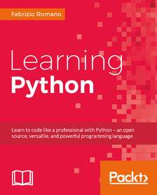 Learning Python at Packtpub
