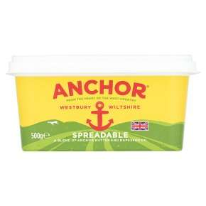 Anchor Spreadable 500g, two for £3.70 @ Waitrose with MyWaitrose (and Pick Your Own Offer)