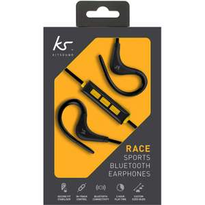 BUY1 GET 1 FREE - Kitsound Race Wireless Bluetooth Sports Earphones -  (or choose from other eligible items) + free delivery £9.99 ebay /  vodafonestore