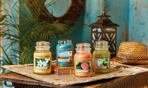 3 x Classic Signature Yankee Candle Large Jars Lucky Random Dip (£8.99 Each) £26.97 Including Delivery at Groupon