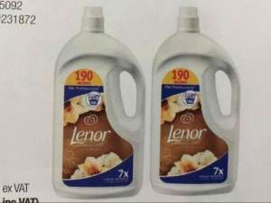 Lenor gold orchid fabric conditional 3.8L (190 wash) x 2 - £12 @ Costco warehouse