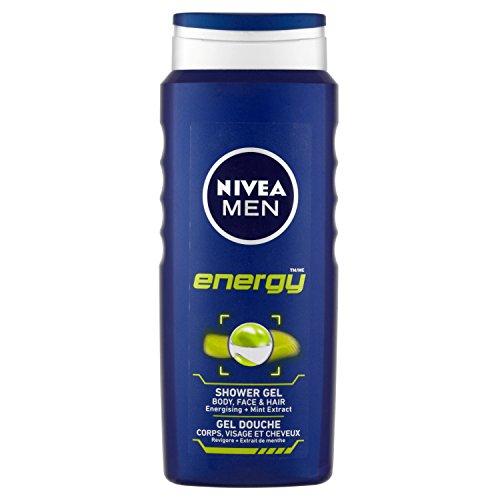 Nivea Men Energy Shower Gel, 500 ml - Pack of 6 - £9  £ (Prime) / £13.75 (non Prime) at Amazon