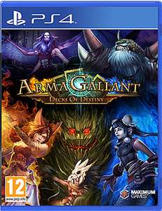 ArmaGallant: Decks of Destiny (PS4) £4.99 Delivered @ GAME (Amazon Matched)