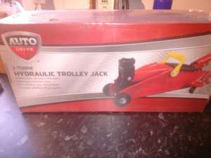 Trolley jack reduced to £6.25 from £25 instore at Asda Weymouth