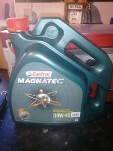 Castrol magnatec 4ltr - £7.50 instore at Asda Weymouth