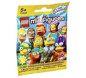 Lego Minifigures Simpsons 2 £1.99 @ Argos