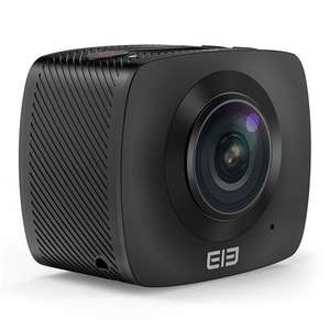 ELE CAM 360 Panoramic Action Camera SPCA6350M F2.0 Dual Lens OV4689 1080P@30fps Sport Camera £43.43 -  geekbuying