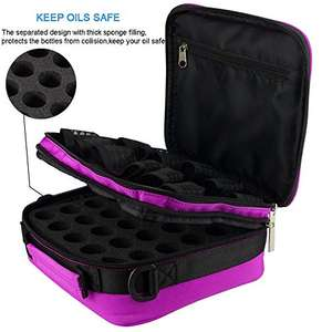 BestFire  Nail polish or essential oil case holds 42 bottles £13.99  (Prime) / £17.98 (non Prime) Sold by Best-Fire and Fulfilled by Amazon