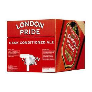 Save 50% on 18-pint and 34-pint Party Barrels of Fullers London Pride Ale