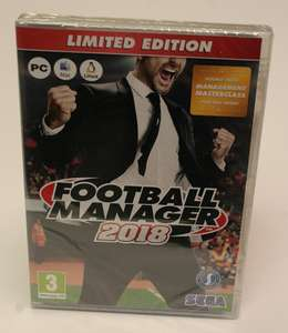 Football Manager 2018 (maybe Limited Edition) £16 delivered at 	daggers-shop