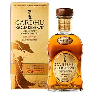 Cardhu Gold Reserve Single Malt Scotch Whisky - ASDA - normally £42, yours for £26