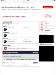 ** RETENTIONS ONLY ** Virginmedia Player Bundle - £30/m & the 2 free months