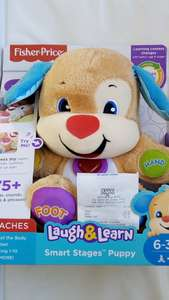 Fisher-Price Laugh & Learn Smart Stages Puppy now £5 at Tesco Metro - Chesterfield