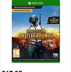 Playerunknown's Battlegrounds – Game Preview Edition (Xbox One) (Code in Box) £17.85 @ Base
