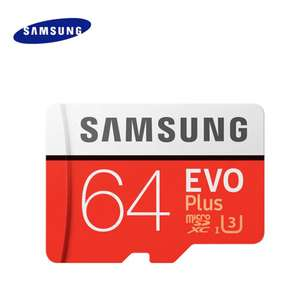 Original Samsung UHS-3 64GB Micro SDXC Memory Card Class 10 100MB/s Storage Device £13.74 Delivered - Dresslily