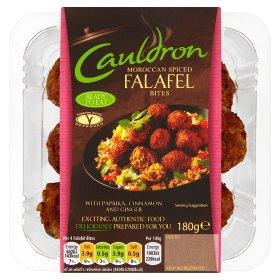 Cauldron Morocccan Spiced Falafel Bites 180g less than half price £1 @ Asda