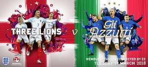 England vs Italy tickets from £20 with NUS card