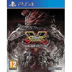 Street fighter v arcade edition £17.99 @ Game