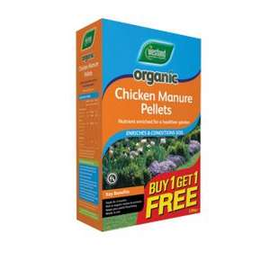 Westland Organic Chicken Manure Pellets - £1 but BOGOF Offer 50p each Free C&C @ Wickes
