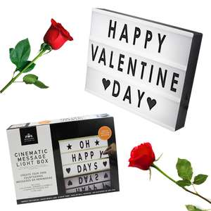 Cinematic Style Letter Box Light Up Valentines £7.99 Free Delivery @ Weeklydeals4less